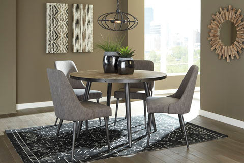 Coverty Round Dining Set - Dining Height