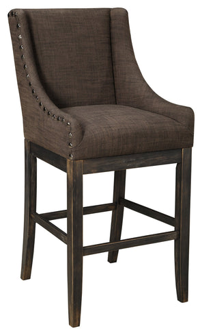 Moriann Upholstered Bar Stool - 2 Colors - 2 Heights