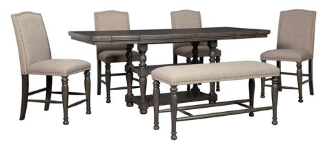 Audberry Dining Set - Counter Height