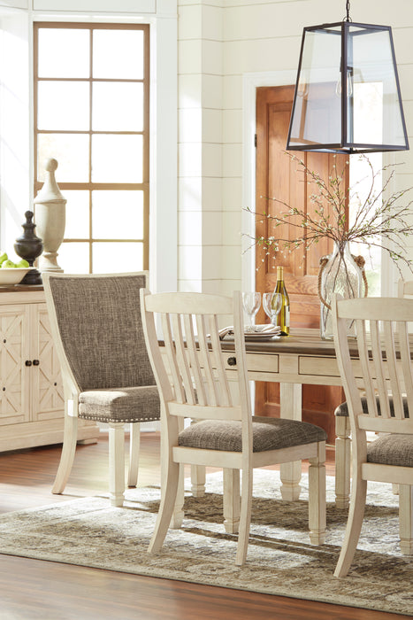 Bolanburg Dining Room Chair - Upholstered Back