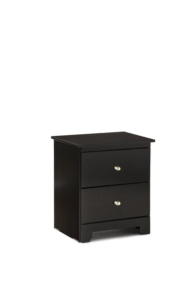 Delevan 2 Drawer Nightstand - Gloss Black