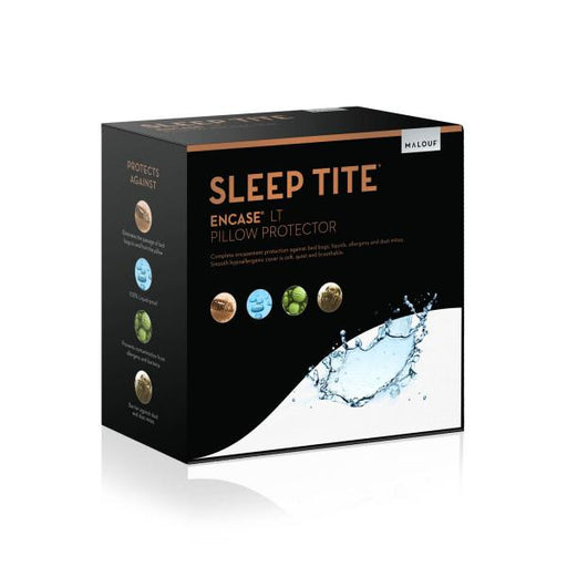 SLEEP TITE ENCASE® LT PILLOW PROTECTOR SET OF 2