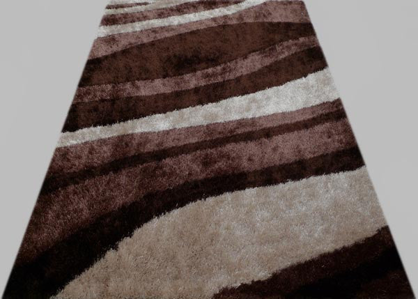 Persian Weavers Banding Shag Rug in 7 Colors