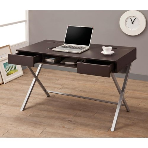 Connect-It Writing Desk - Cappuccino