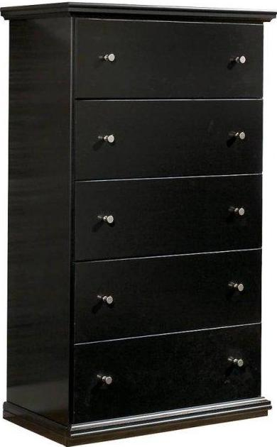 Maribel - Five Drawer Chest - Black