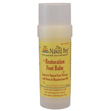 Naked Bee - Foot Balm Twist up Tube 2 oz.