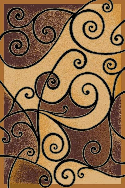 Persian Weavers Swirling Rug in 9 Colors