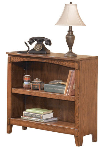 Cross Island Small Bookcase - Medium Brown