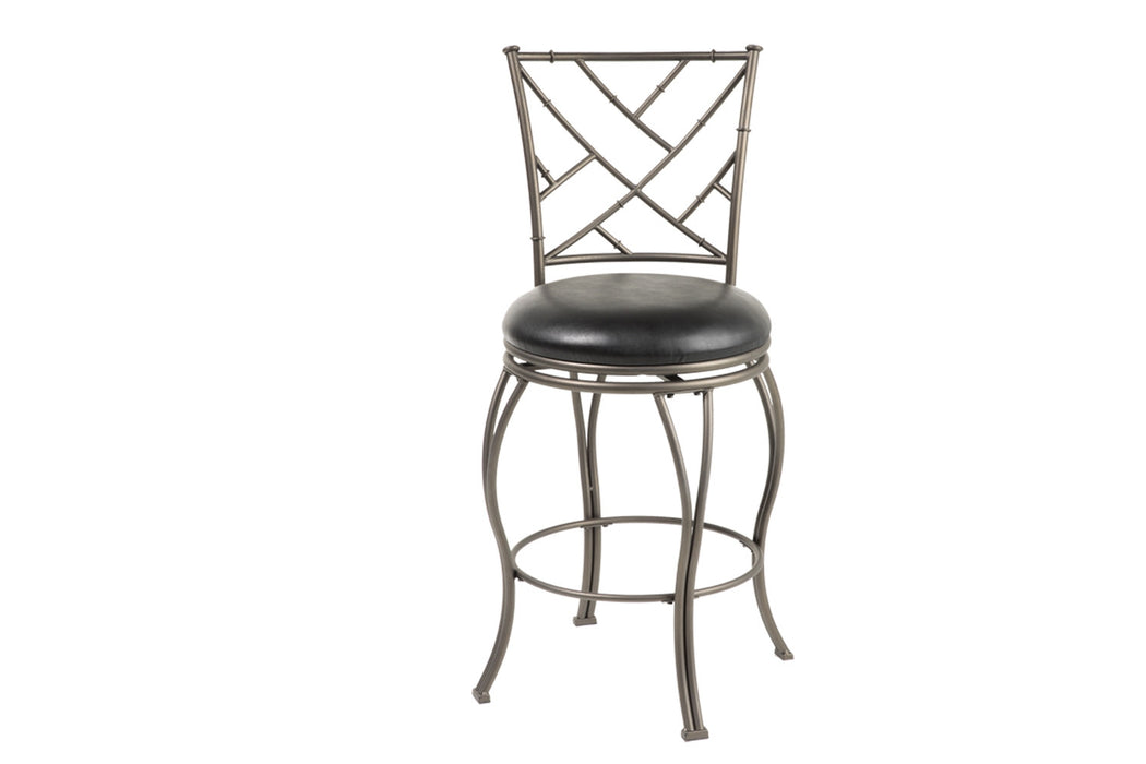 "Honolulu 26"" & 30"" Metal Stools with Swivel-seat"