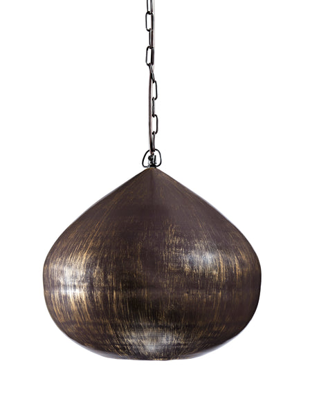 Aminali Metal Pendant Light - Antique Brass Finish