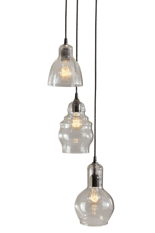 Adelphia Glass Pendant Light - Clear