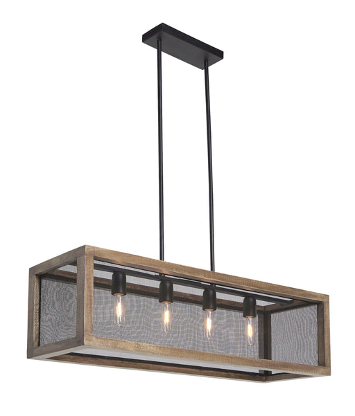 Jodene Large Wood Pendant Light