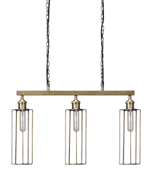 Hilary Metal Pendant Light - Brass Finish