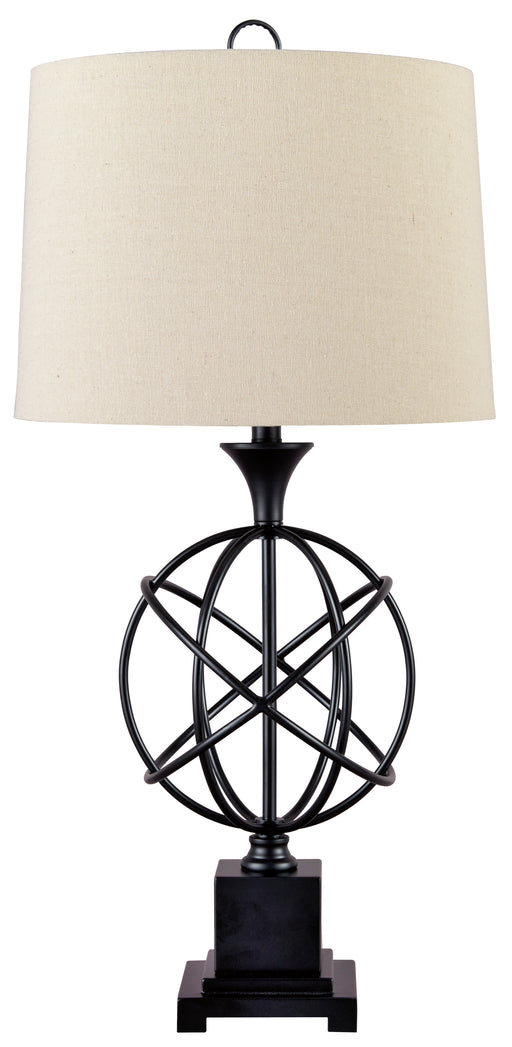 Camren - Black - Metal Table Lamp (1/CN)