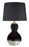 Arma - Black/Copper Finish - Glass Table Lamp (2/CN)
