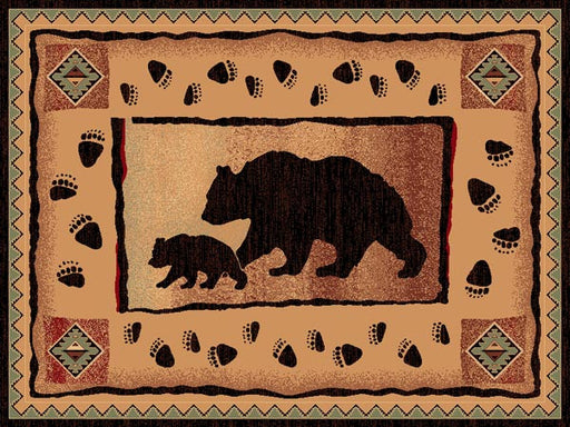 Persian Weavers Bear Lodge Rug