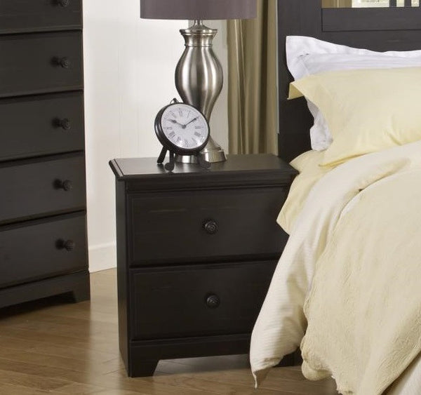 Washburn 2 Drawer Nightstand - Deer Paint