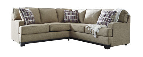 Larkhaven Extendable Sectional - Amber