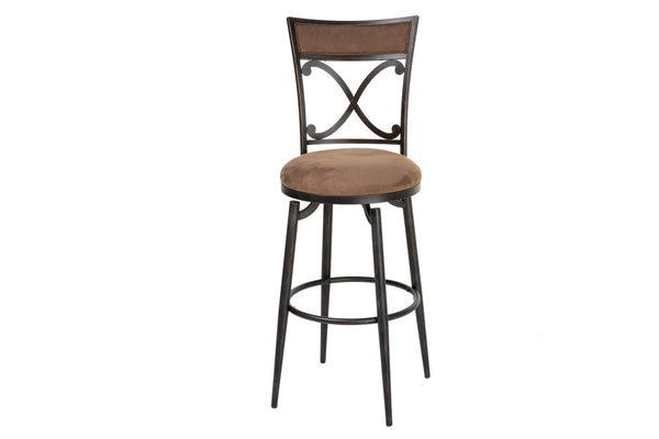 "Montgomery 30"" Metal Bar Stool With Swivel-seat"