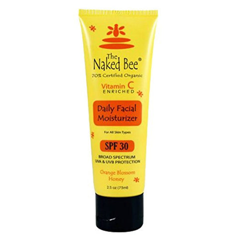 Naked Bee - Facial Moisturizer SPF30 - 2.5 oz