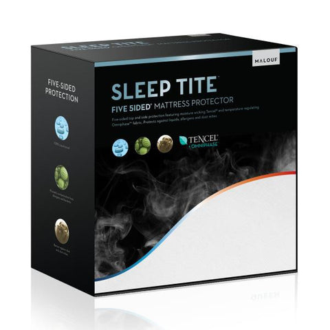 SLEEP TITE FIVE 5IDED® MATTRESS PROTECTOR WITH TENCEL® + OMNIPHASE®