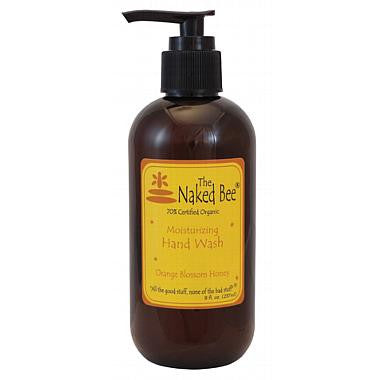 Naked Bee - Hand Wash Pump Bottle 8 oz (8 Fragrances)