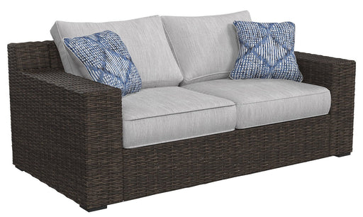 Alta Grande Outdoor Loveseat with Cushion