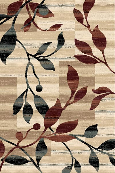 Persian Weavers Vine Rug in 3 Colors