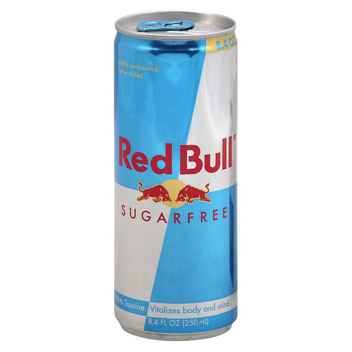 Red Bull Sugar Free 8.4 Oz