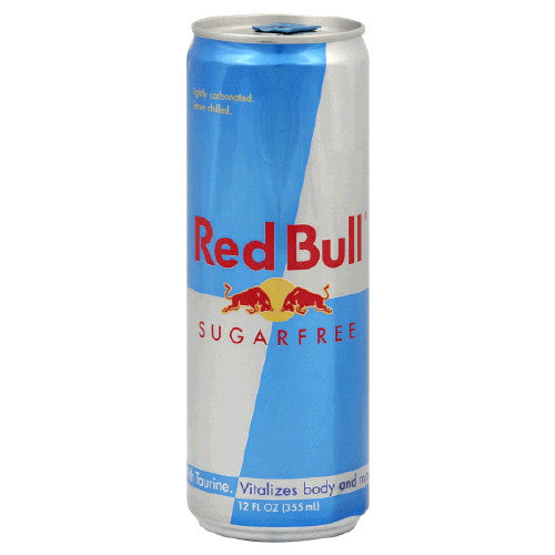 Red Bull Sugar Free 12 Oz
