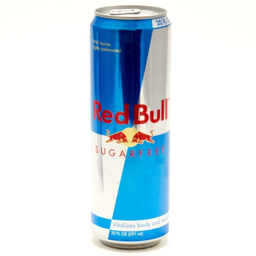 Red Bull Sugar Free 20 Oz