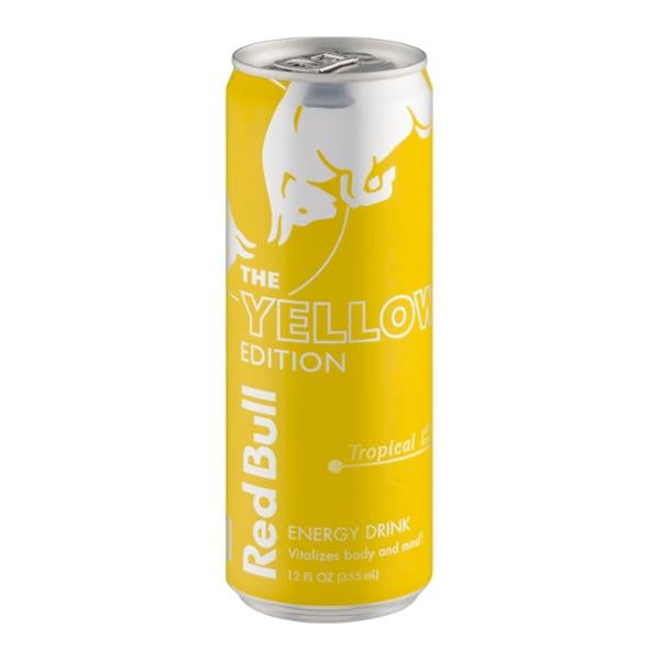 Red Bull Tropical 12 Oz