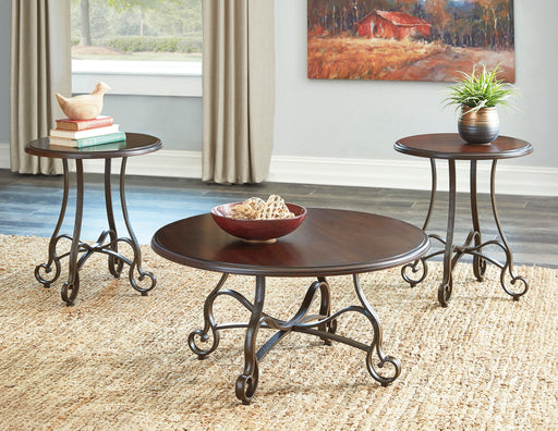Carshaw Occasional Table Set - Round