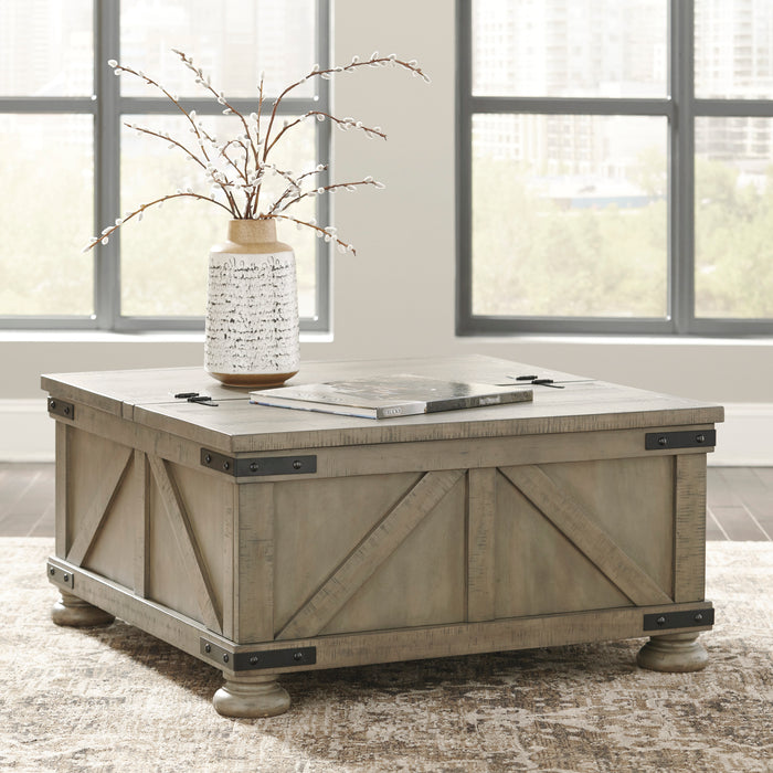 Aldwin Coffee Table w/ Storage