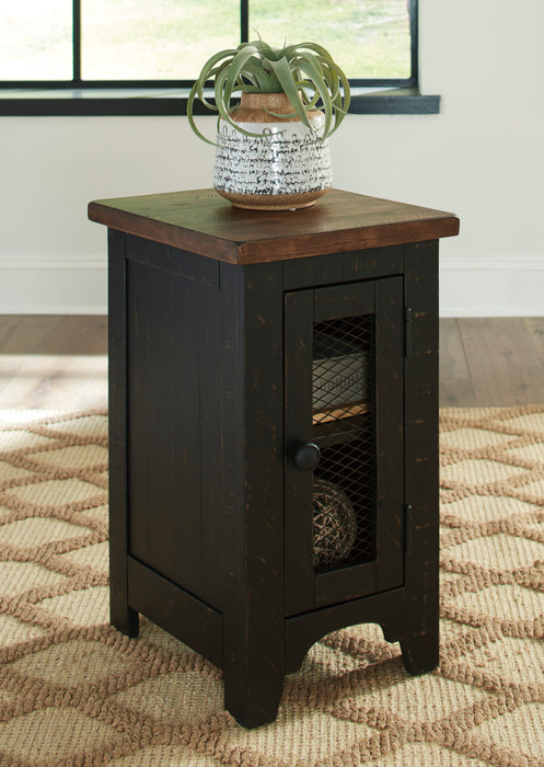 Valebeck - Chair Side End Table