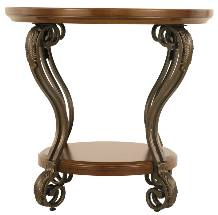 Nestor Round End Table
