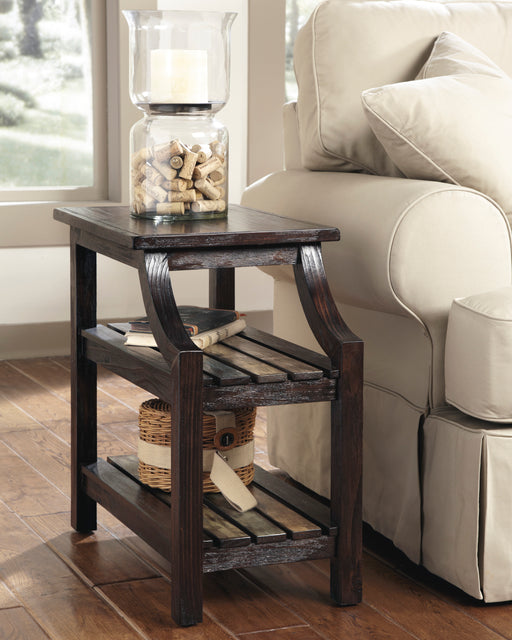 Mestler Chair Side End Table