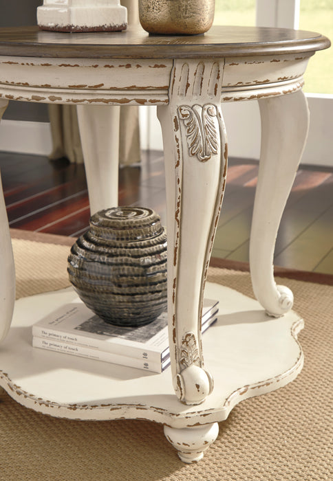 Realyn Round End Table