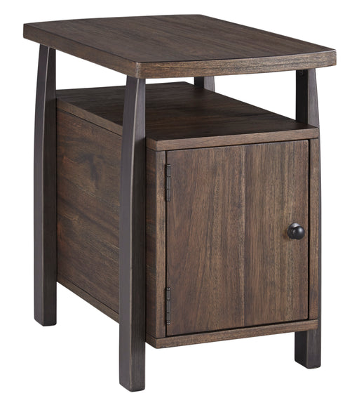 Vailbry - Chair Side End Table - Brown