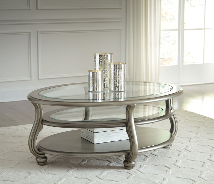 Coralayne Oval Coffee Table