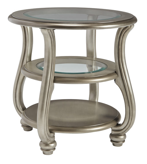 Coralayne Round End Table