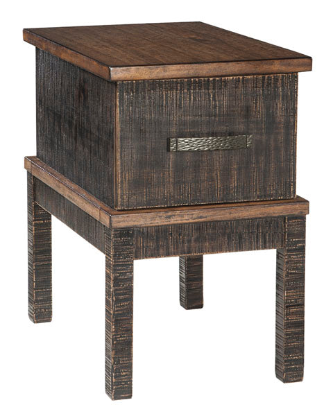 Stanah - Chair Side End Table - Two-tone