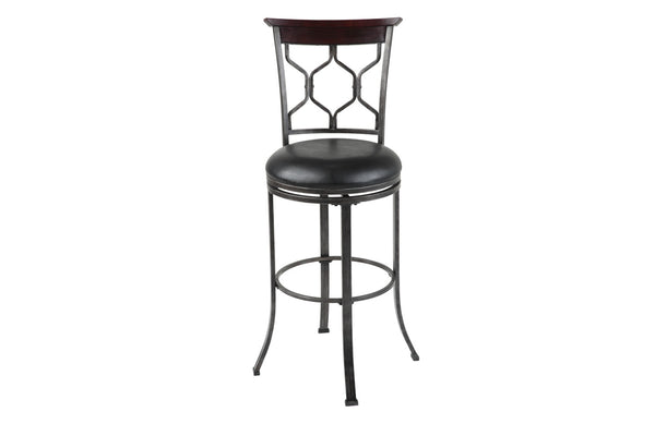 "Tallahassee 26"" & 30"" Metal Stool with Swivel-seat"