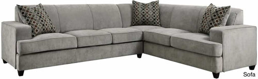 Tess Sleeper Sectional - Grey
