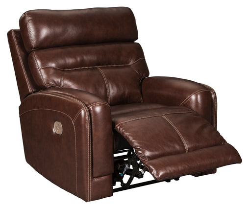 Sessom - Power Recliner w/ Adjustable Headrest - Genuine Leather