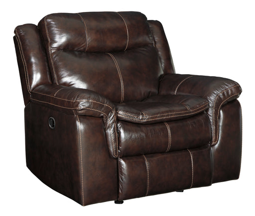 Lockesburg - Rocker Recliner - Genuine Leather