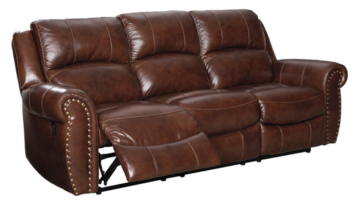 Bingen Reclining Sofa - Genuine Leather - Optional Power