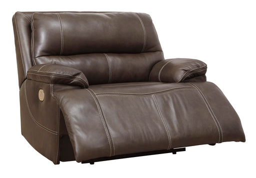 Ricmen - Power Recliner w/ Adjustable Headrest - Genuine Leather