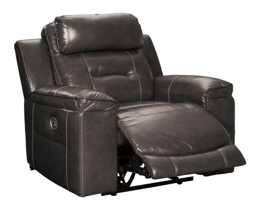 Pomellato - Power Recliner w/ Adjustable Headrest - Genuine Leather