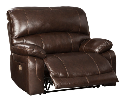 Hallstrung - Zero Wall - Wide Seat Recliner w/ Adjustable Headrest - Genuine Leather